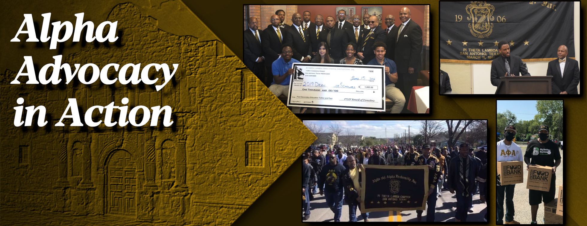 Alpha Phi Alpha Fraternity, Inc. - Pi Theta Lambda Chapter Campaign to Abolish Bexar County Medical Debt